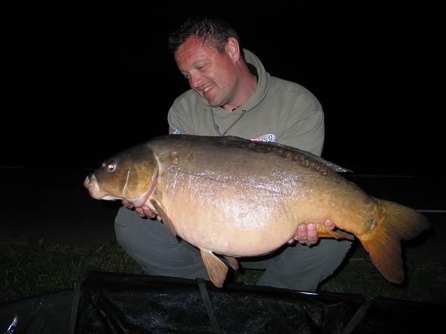Eerdere vangst van de vis door Eddy Norder