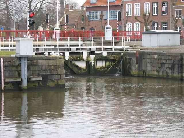 De Dampoortsluis te Brugge