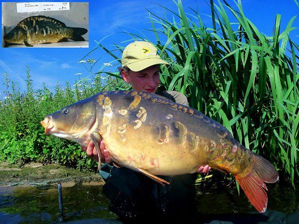 Bart met een fraaie andere vis van de lichting 2006