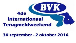 4de Internationale Terugmeldweekend