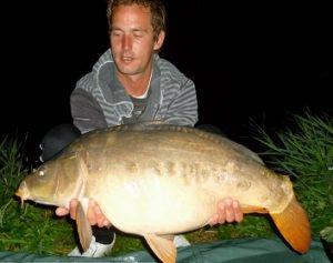 Vis werd weer gevangen in 2013 bij Lisse'