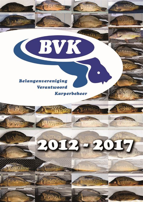De poster van het BVK-lustrum toont het gevarieerde aanbod anno 2017