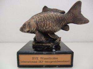 De BVK Wisseltrofee welke sinds 2014 word uitgereikt aan de winnaar